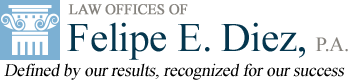 Law Offices of  Felipe E. Diez, P.A. logo
